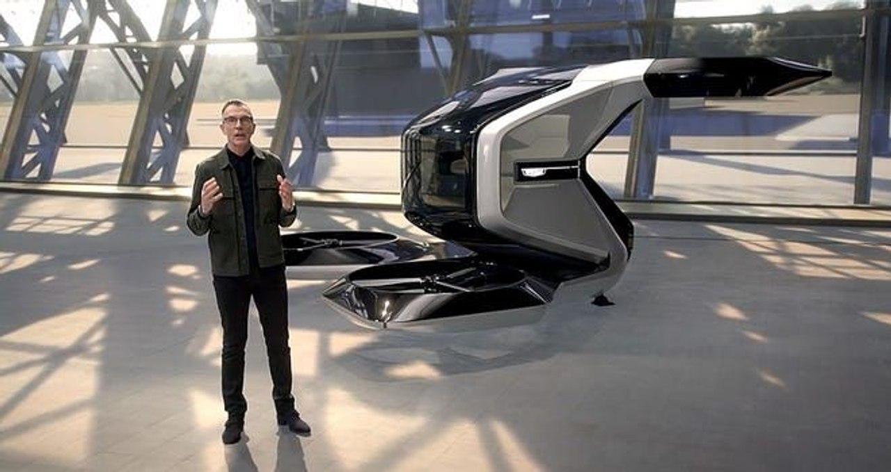Cadillac представил футуристический концепт летающего автомобиля