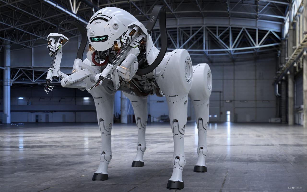 Роботизированная собака SN-3 Nova создана для работы на космических станциях