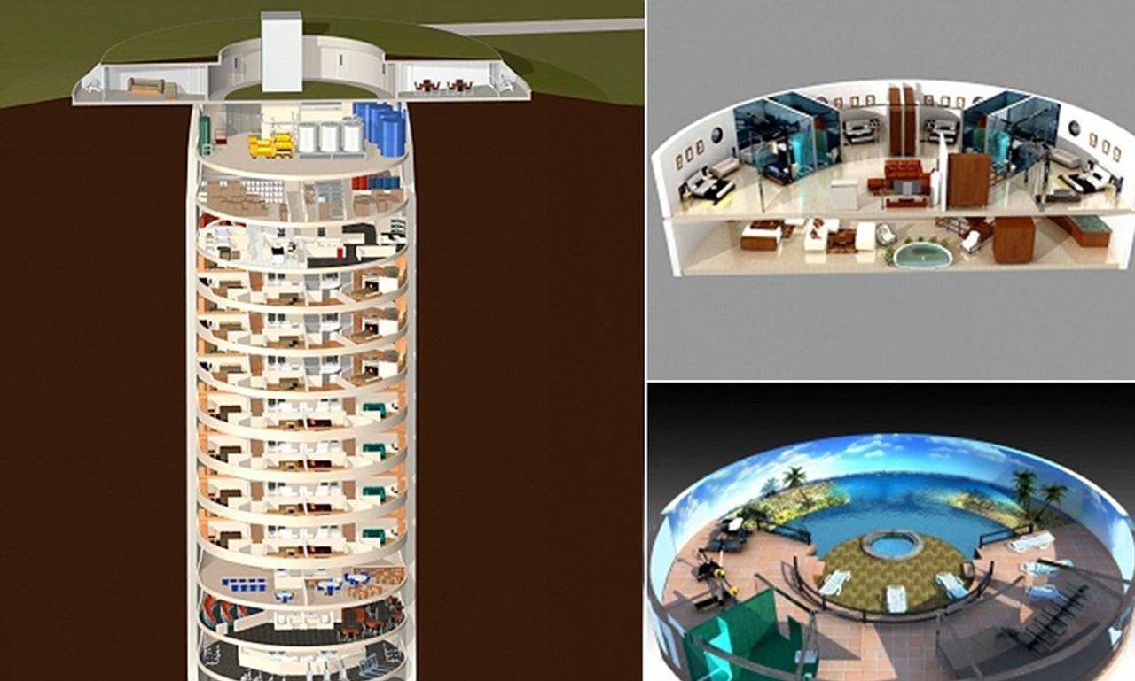 Американец Ларри Холл построил уютные квартиры в заброшенной ракетной шахте