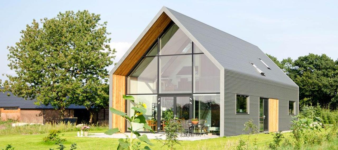 Самый энергоэффективный коттедж Lofthouse с применением технологий генерации и сбережения энергии
