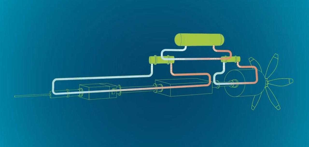 Криогенный водородный силовой агрегат, преобразит двигательную установку самолетов