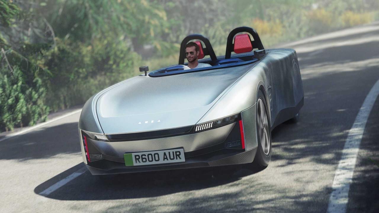 Электрический спортивный автомобиль Aura демонстрирует, как может выглядеть будущее автомобилестроения