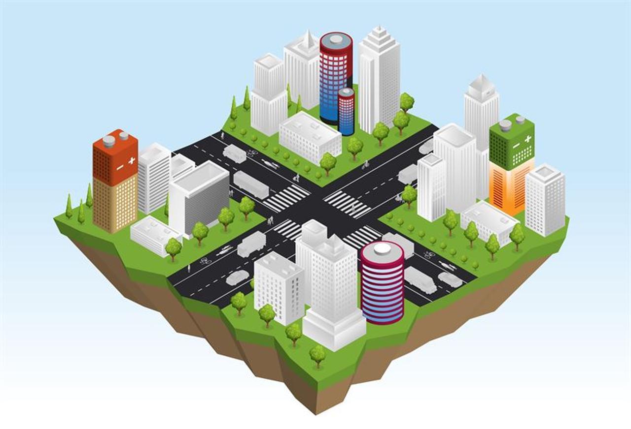 Изобретен новый вид бетона для хранения электроэнергии