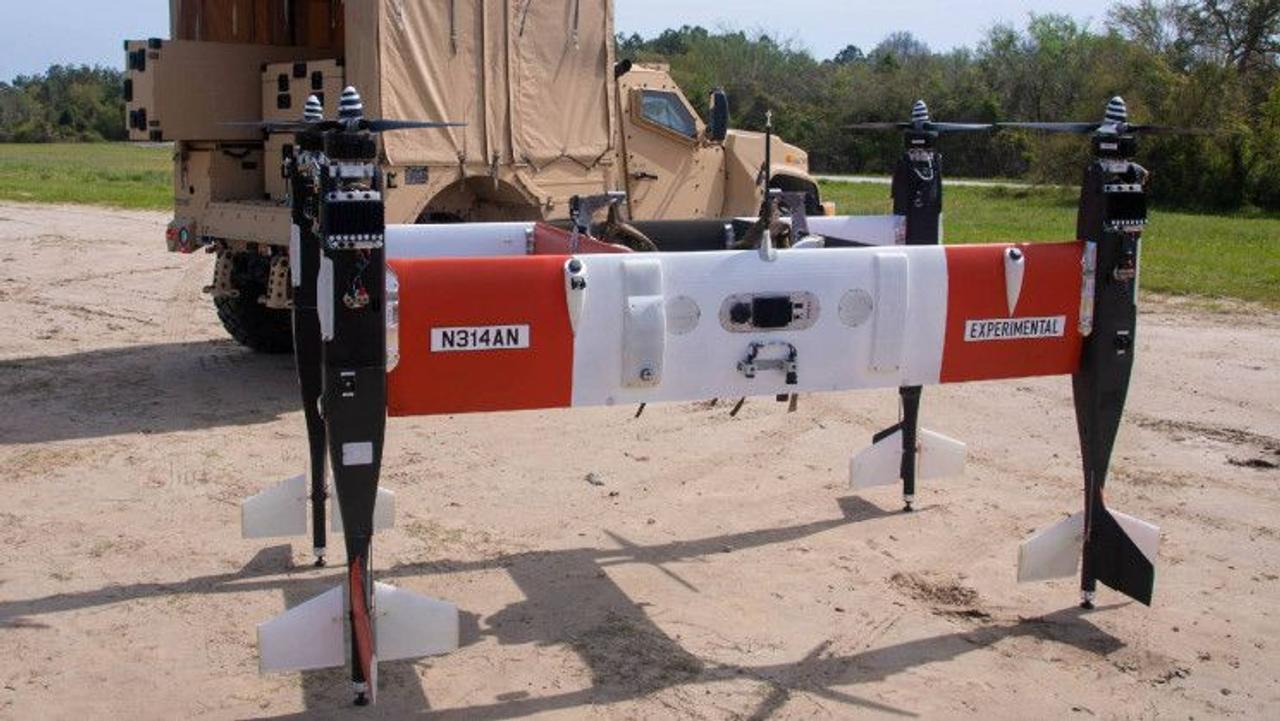 Американский производитель Bell выпустил новый автономный беспилотный летательный аппарат, который может доставлять полезный груз до 50 кг