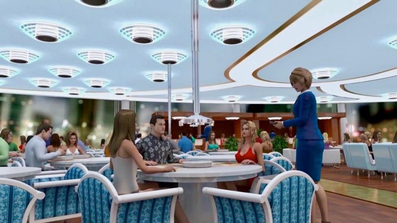 Каким будет ресторан будущего? Экскурсия по ресторану быстрого обслуживания