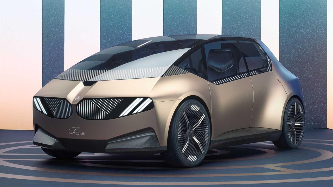 BMW представил свое видение будущего, показав компактный электромобиль i Vision Circular