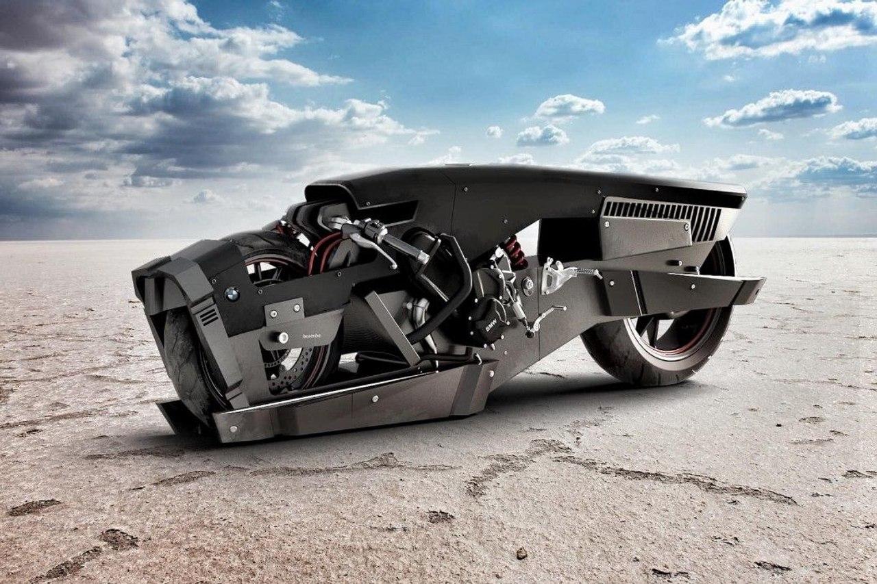 BMW S1000RR «Phantom» -  футуристический монстр от дизайнера Мехмета Дорука Эрдема
