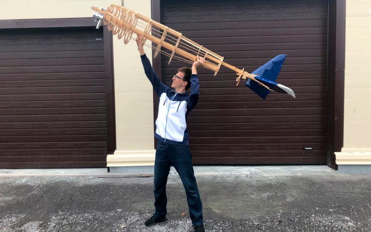Студенты МАИ создают уникальный беспилотный самолёт для сельского хозяйства