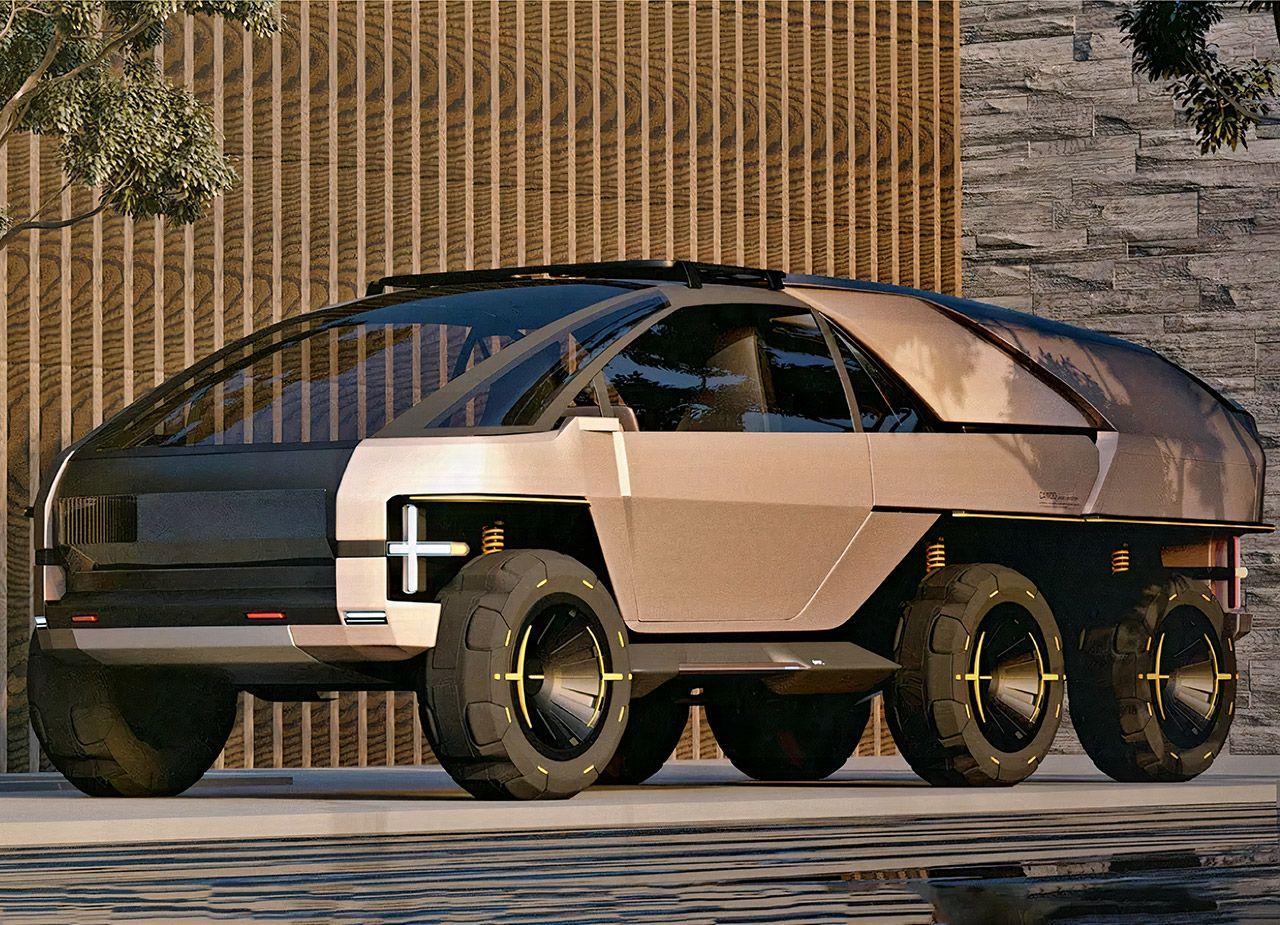 Anyroad - уникальный гибрид городского автомобиля, внедорожника и современного пикапа