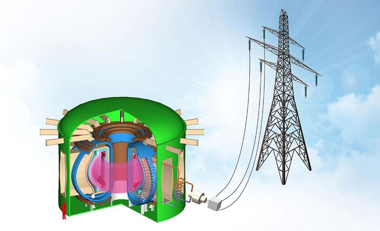 Секрет первой термоядерной электростанции, вырабатывающей чистую электроэнергию