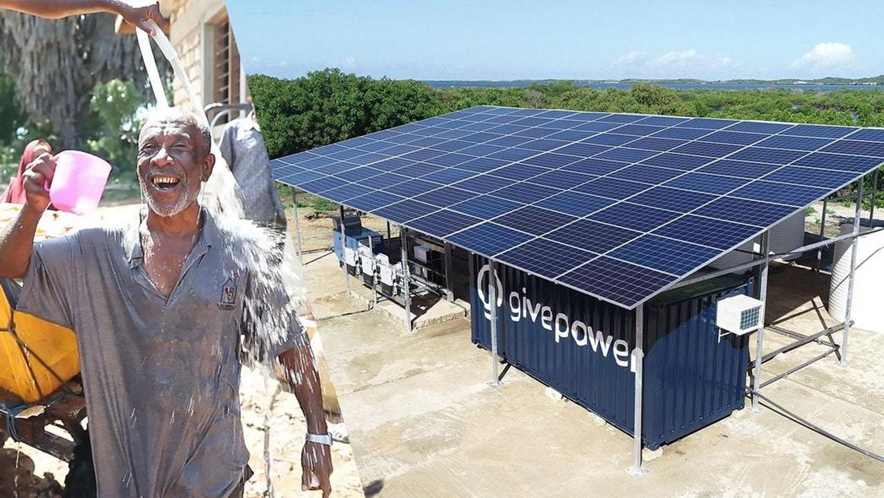 Солнечная ферма обеспечивает питьевой водой 50 000 человек в день