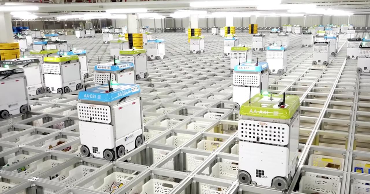 В скором времени все наши онлайн-заказы будут собирать роботы, как в американской сети супермаркетов Kroger