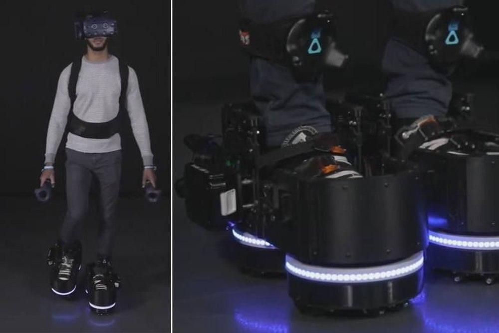 Ботинки Ekto One позволяют ходить, оставаясь на месте
