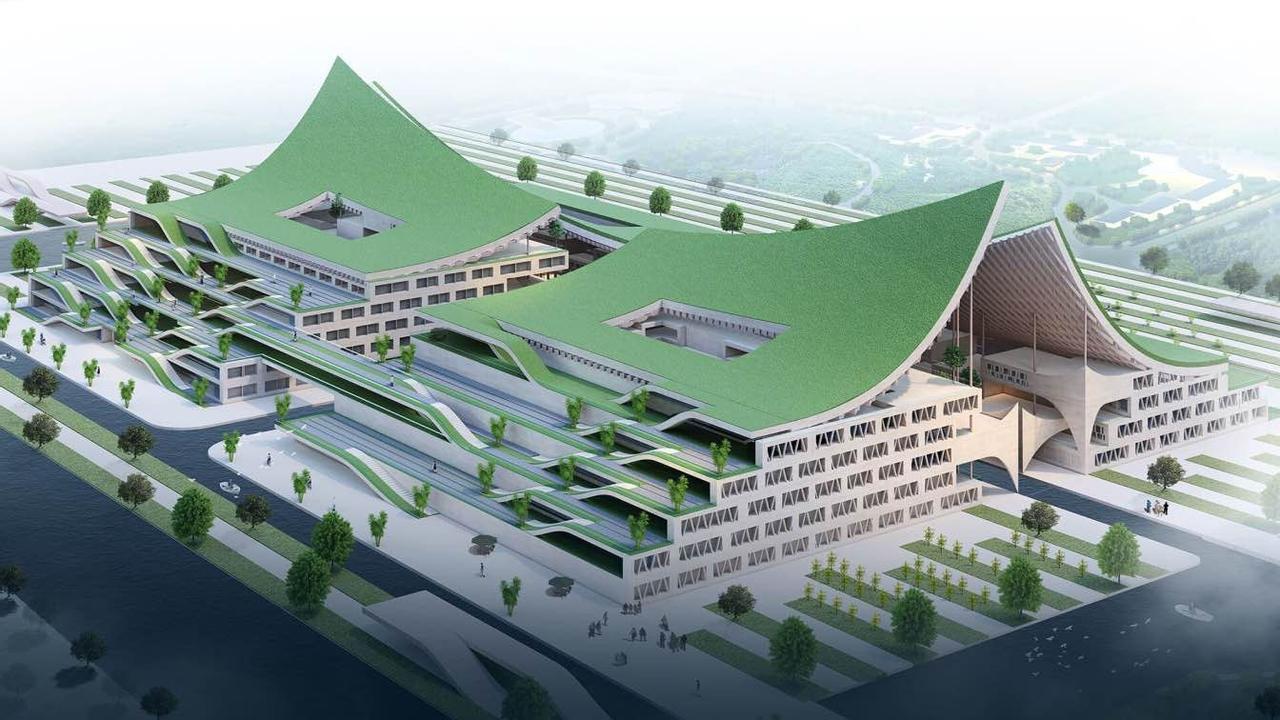 Футуристический центр вина от Armani Architects – новый шаг в современной архитектуре Китая