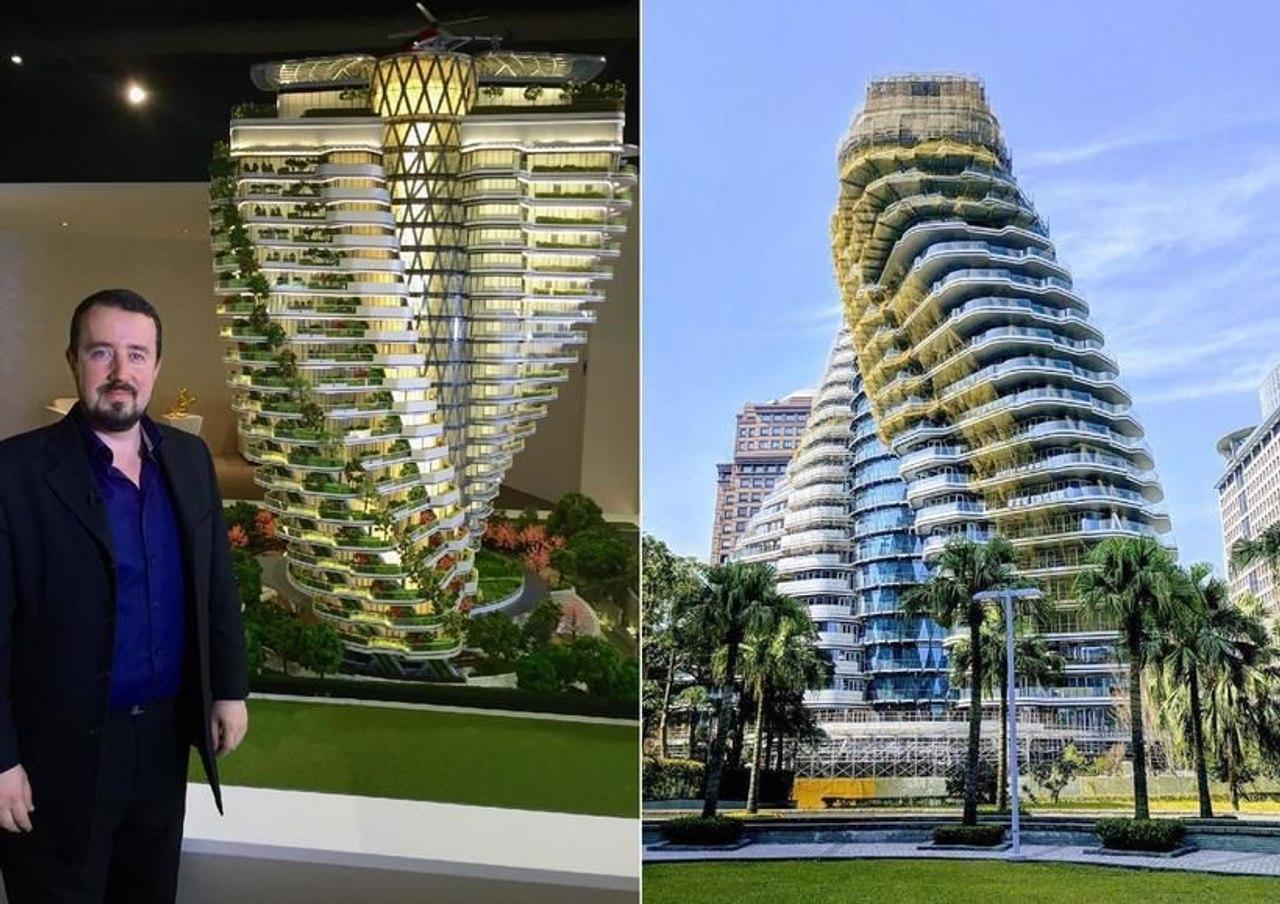 Строительство зеленого небоскреба «Agora Garden Tower», архитектора Винсента Каллебау, близится к завершению