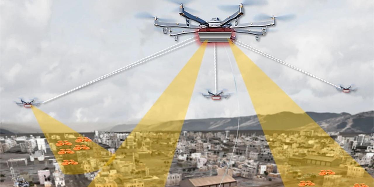 В городах США развернут систему контроля за дронами с помощью беспилотников