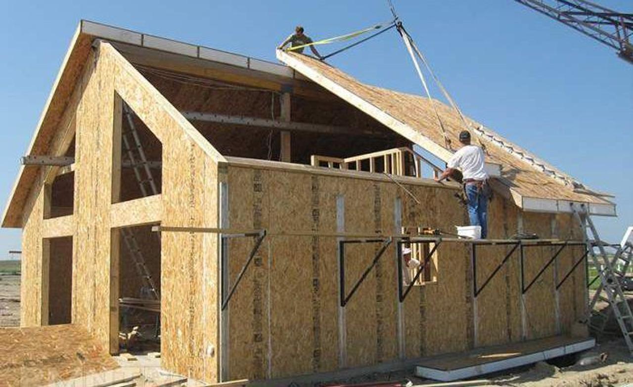 Строительство энергоэффективных домов из SIP-панелей. В чем преимущество?