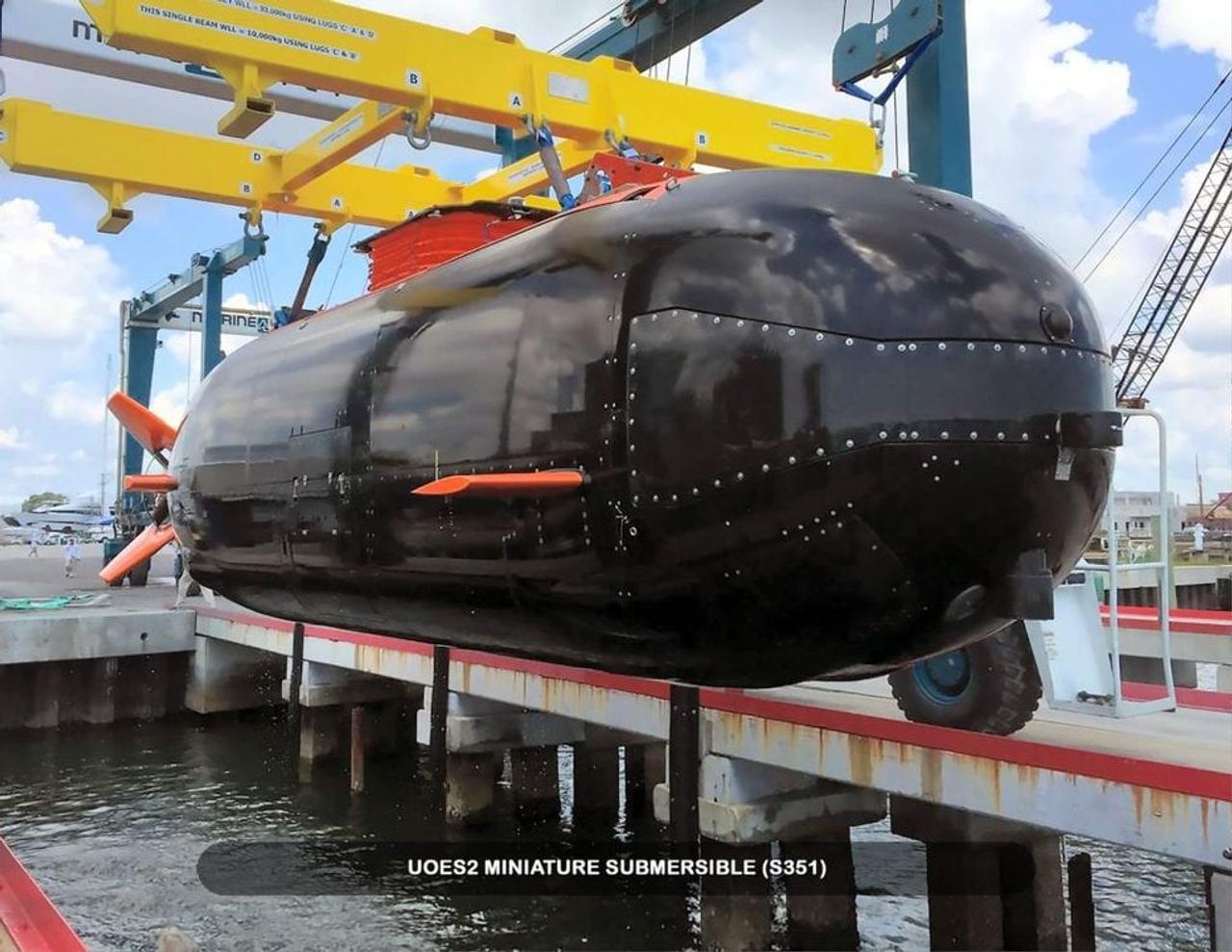 ВМС США испытывают мини-подводную лодку для скрытного перемещения «морских котиков»