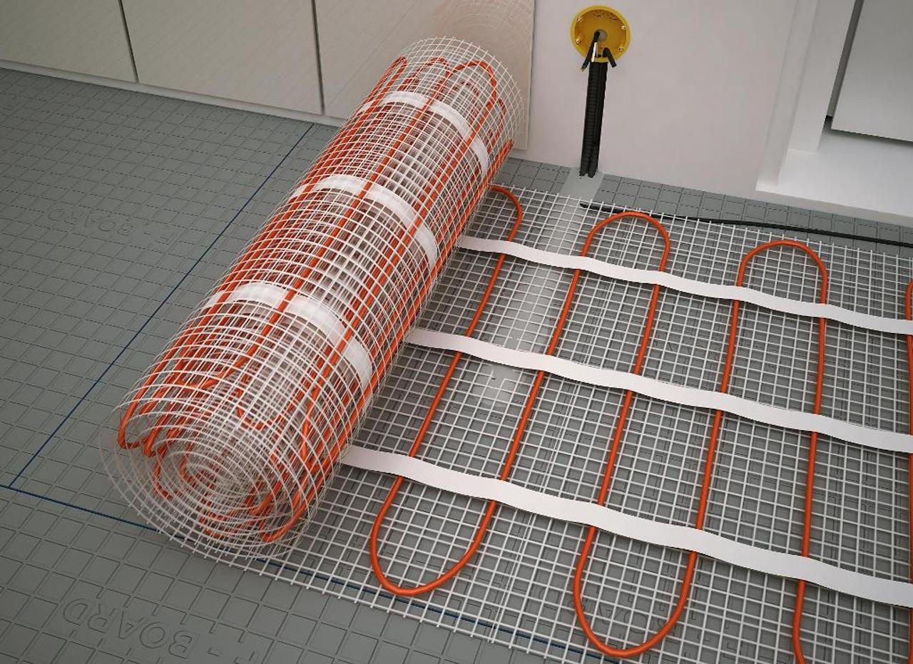 Нагревательные маты для системы «теплый пол». Виды и особенности электрических матов для отопления помещений