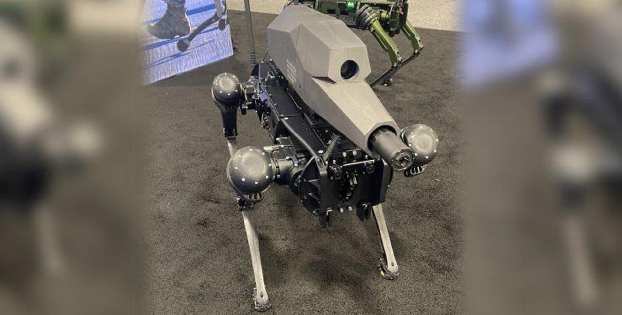 Для армии США создали супер снайпера, робота-собаку