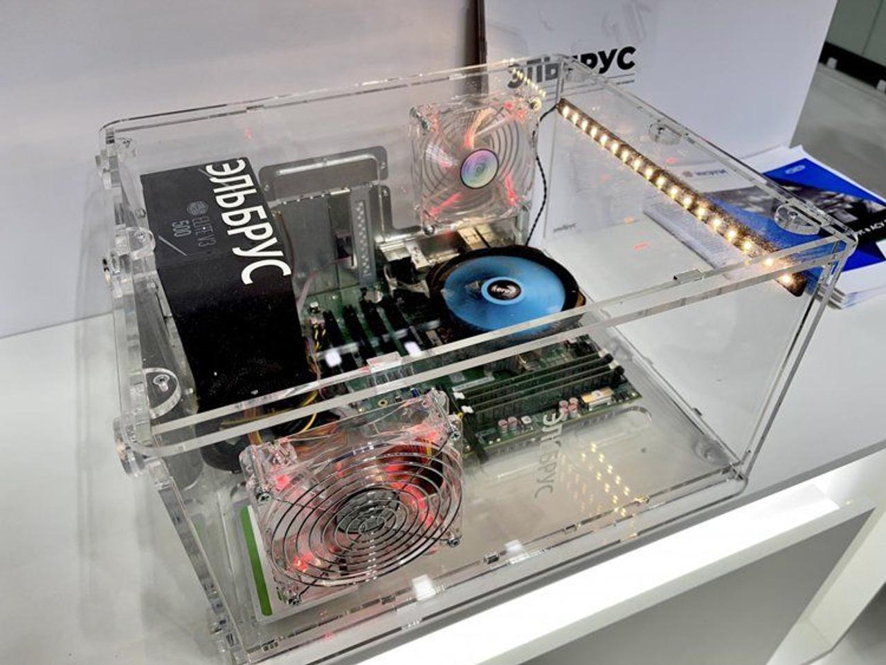 В России создали первый бюджетный компьютер на базе процессора «Эльбрус-2С3»