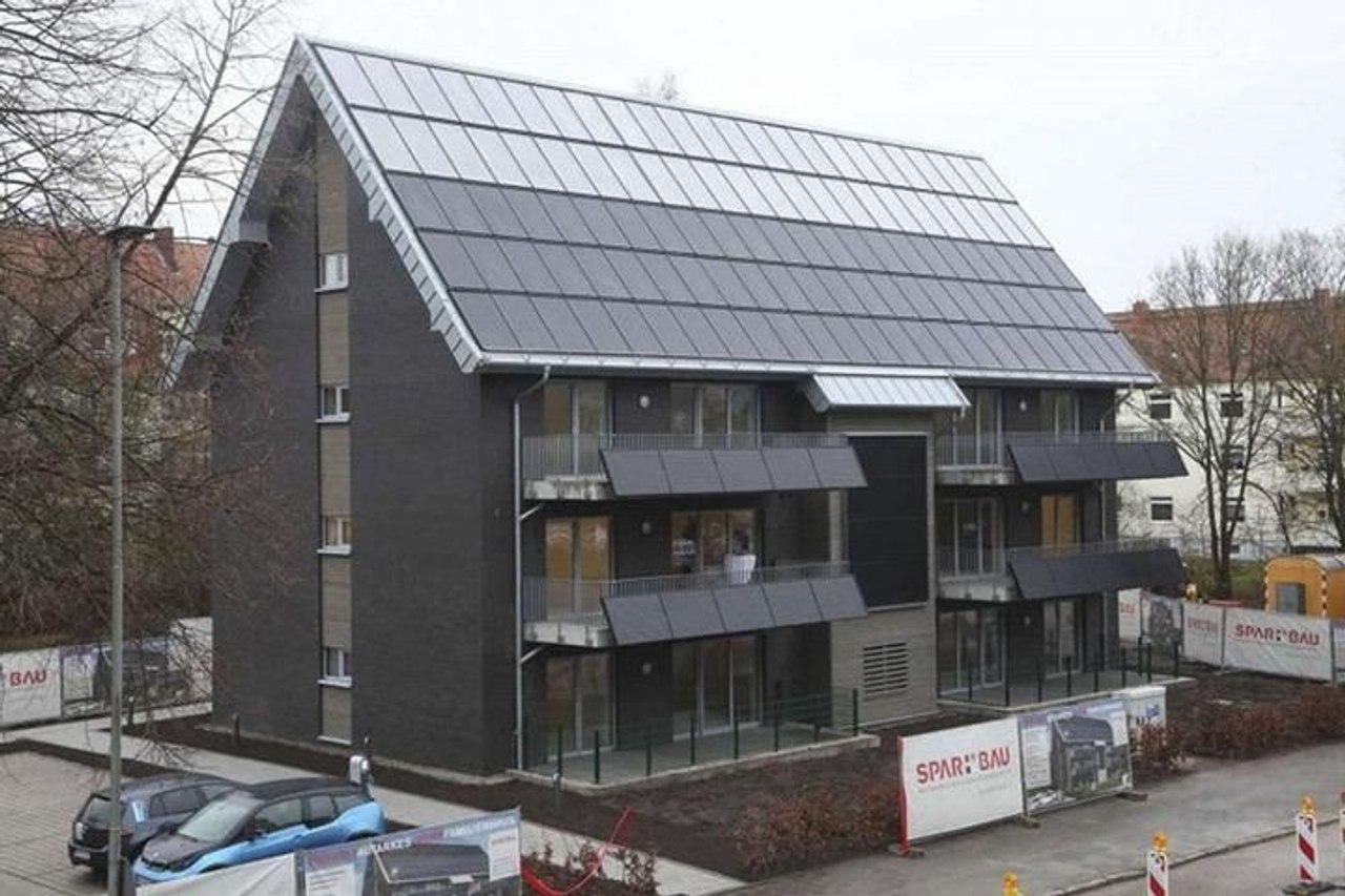 В Германии построили энергоэффективный дом без счетов за тепло и электричество