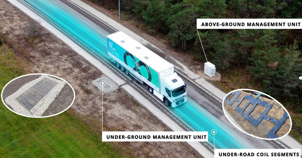 ElectReon тестирует трассу для бесконтактной зарядки электромобилей во время движения