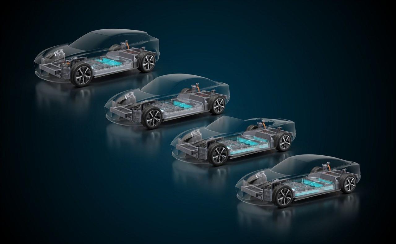 На основе новой платформы EVX можно создавать электромобили с запасом хода до 1000 км и мощностью до 1000 кВт