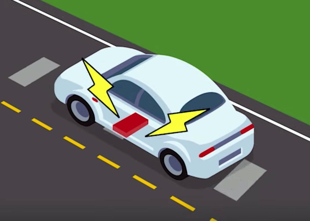 Намагничивающийся бетон позволит заряжать электромобили во время движения