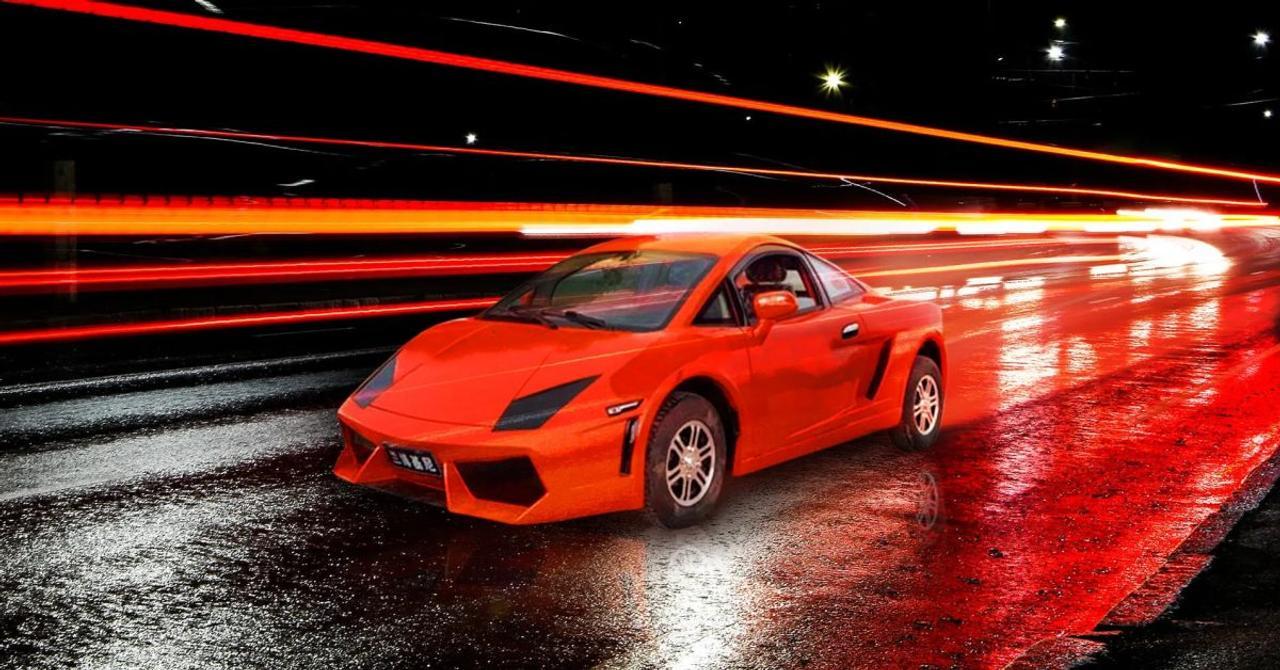 Китайцы «слепили» электрический Ferramborghini «скрестив» Ferrari и Lamborghini
