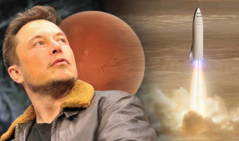 Илон Маск рассказал о том, как будут жить первые колонисты на Марсе
