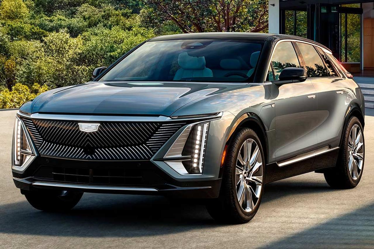 Компания General Motors показала первый электрокроссовер Cadillac Lyriq