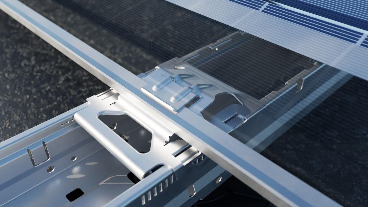 Компания Esdec разработала инновационную систему Flatfix Wave для быстрой установки солнечных панелей