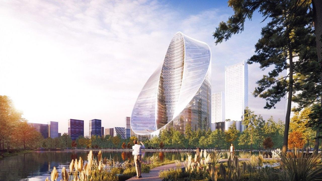 Проект оригинального небоскреба O-Tower для китайского производителя смартфонов Oppo