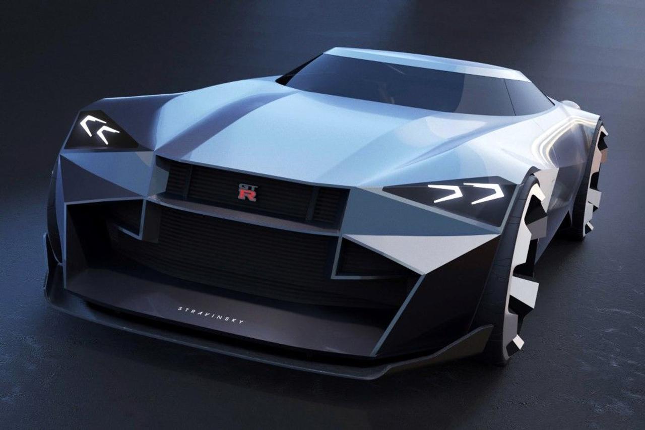 Концепт Nissan GTR Stravinsky - идеальное сочетание грации и агрессии