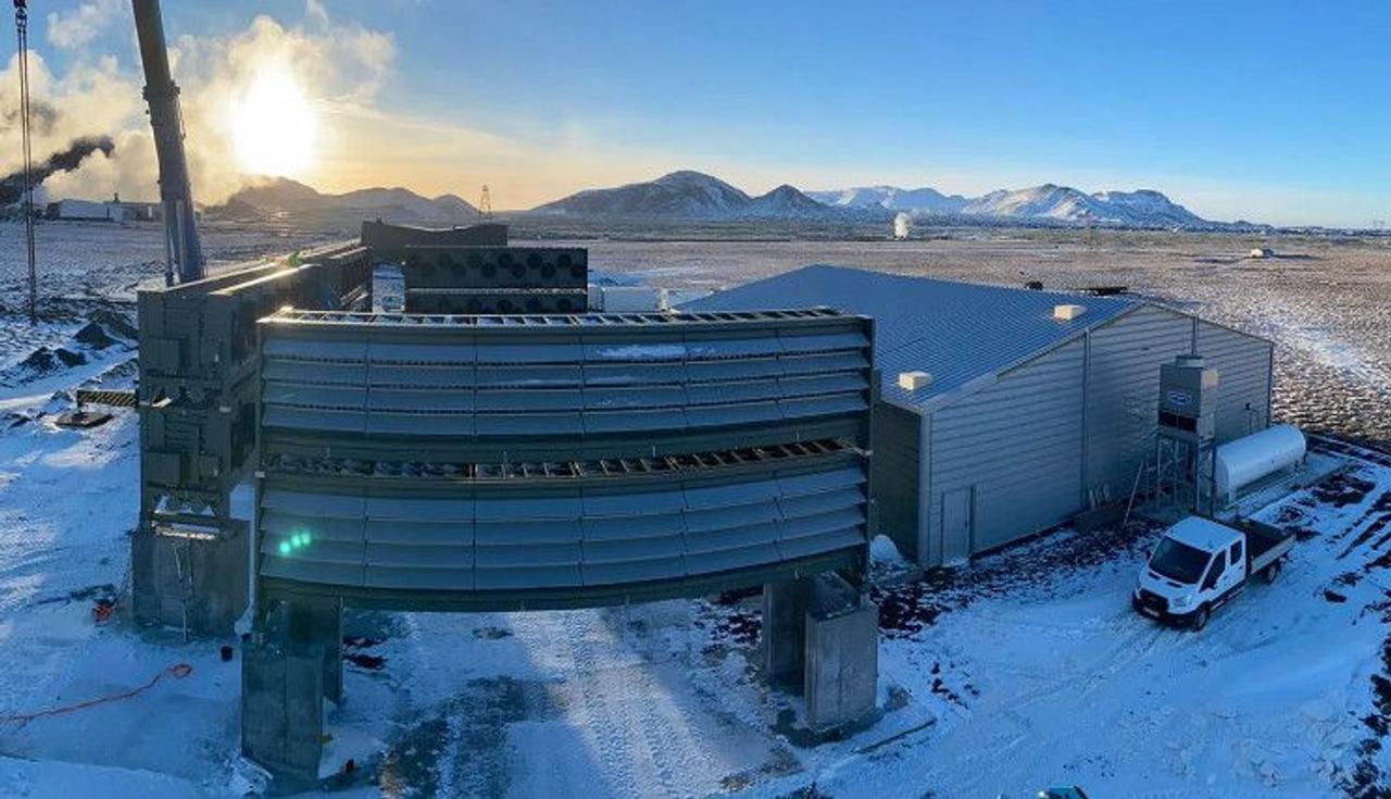 Исландская установка для удаления углекислого газа из атмосферы будет поглощать до 4000 т CO2 в год