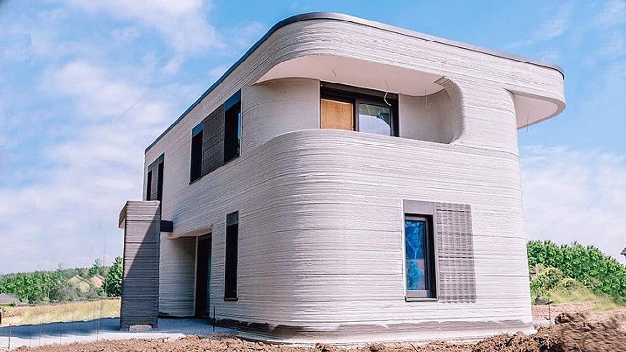 В Германии, с помощью 3D-печати, создали первый многоквартирный дом
