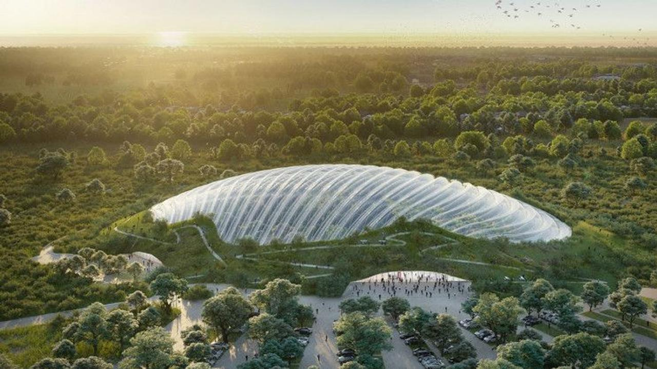 Во Франции строят крупнейшую в мире оранжерею площадью 20 000 квадратных метров