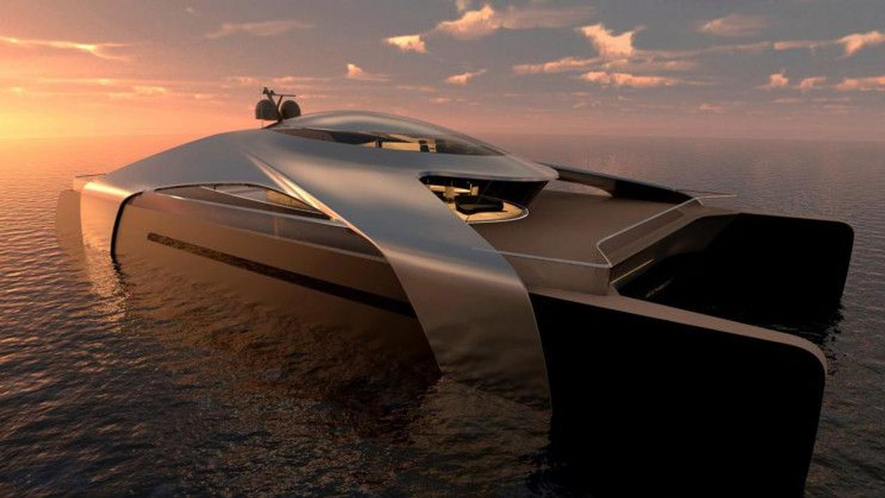 Катамаран с водородным двигателем Migma создан для экологичных путешествий