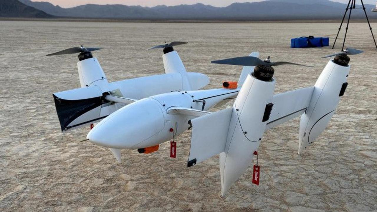 Transwing - футуристический летательный аппарат с уникальным дизайном складывающегося крыла