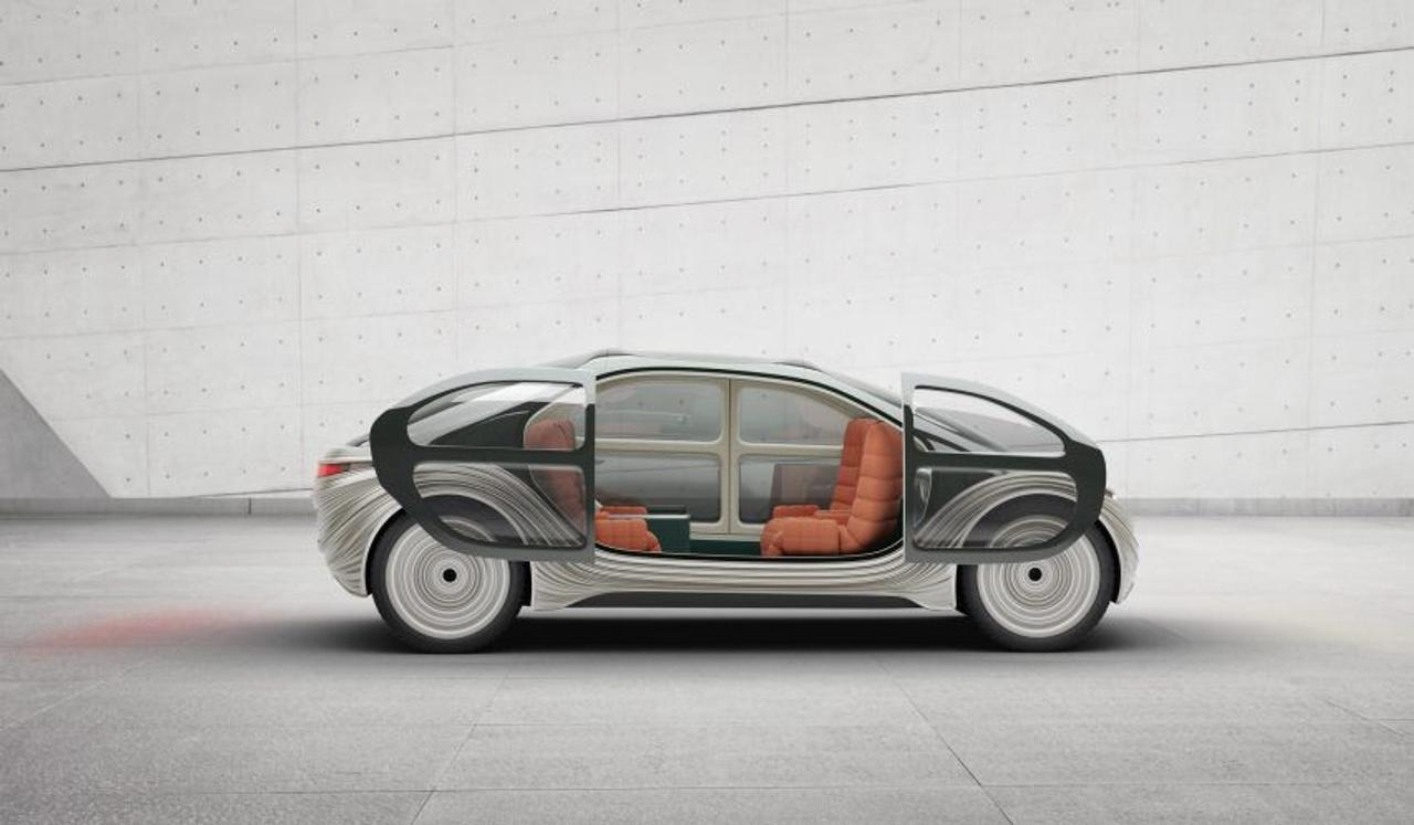 Беспилотный электромобиль Airo открывает новую эру в автомобильном дизайне, очищая воздух