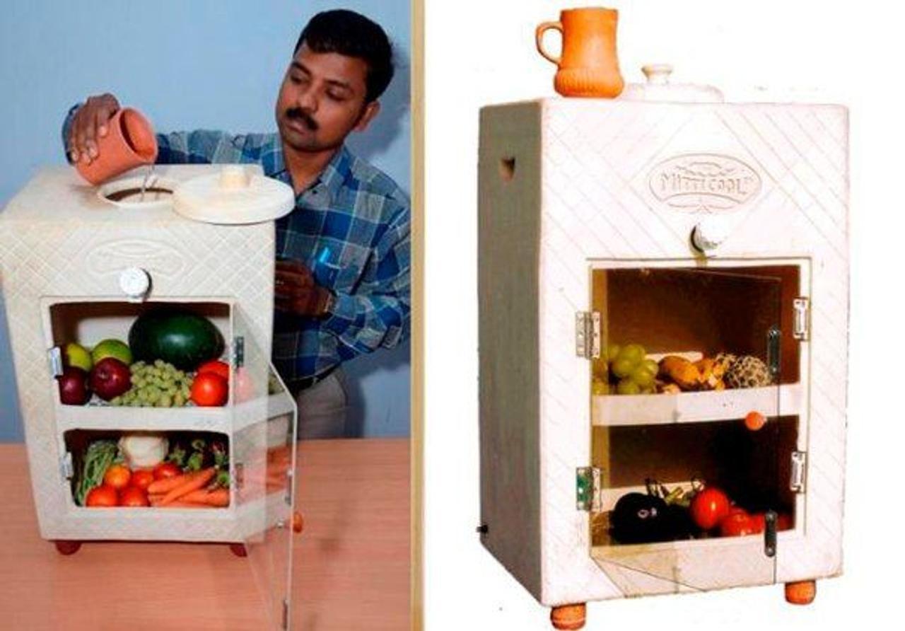 Глиняный холодильник «MittiCool», не использует электричество и стоит всего $25