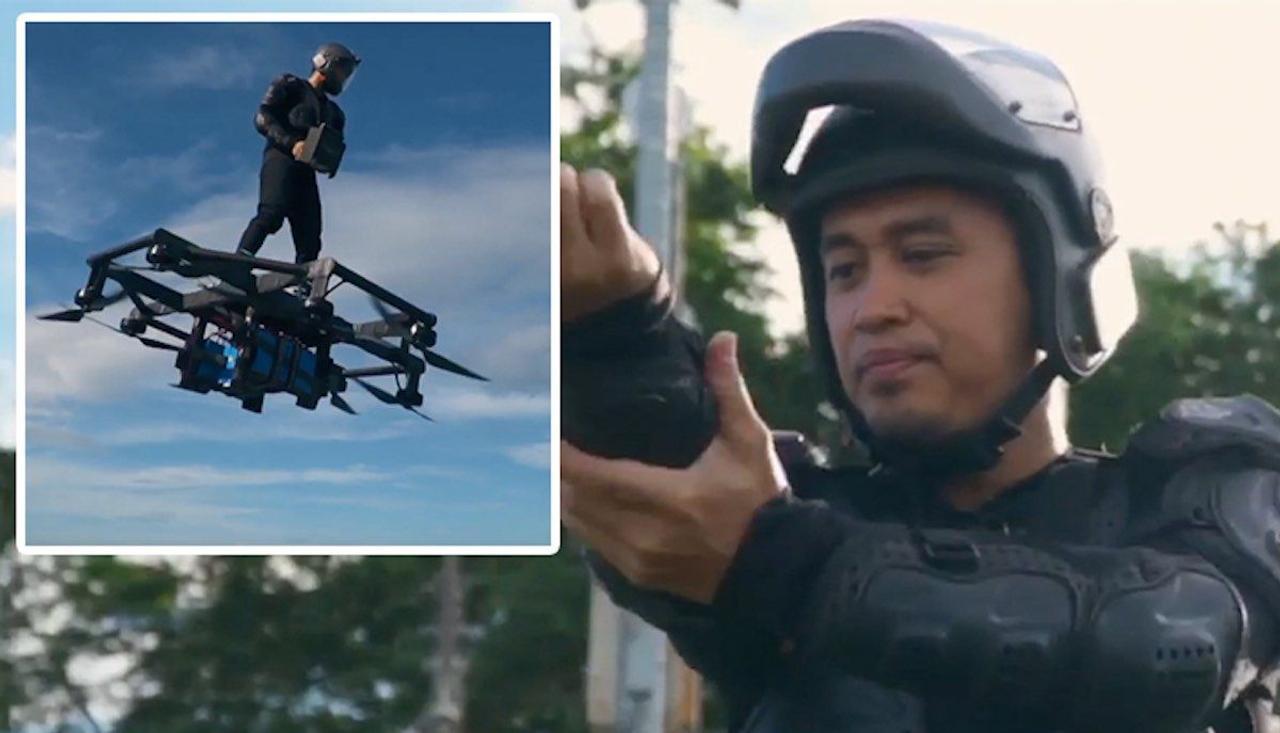 Филиппинец сам создал ховерборд и побил рекорд дальности полёта