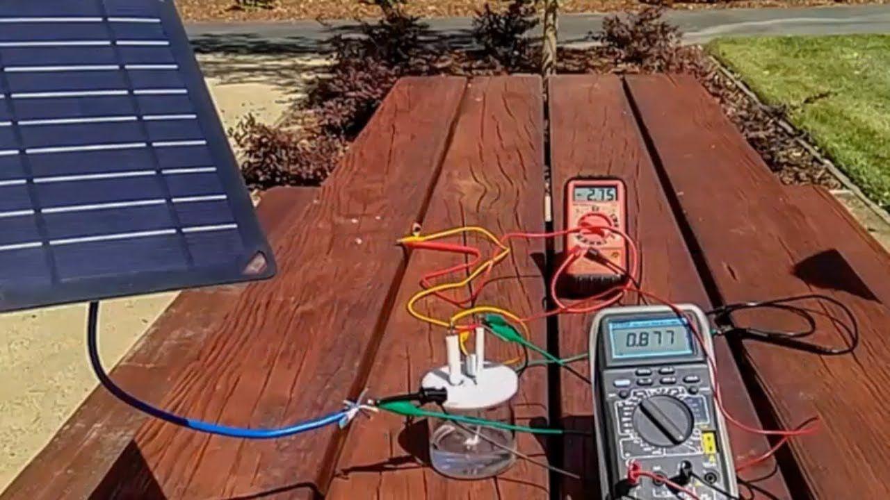 Найден дешевый способ получения водорода из соленой воды и энергии солнца