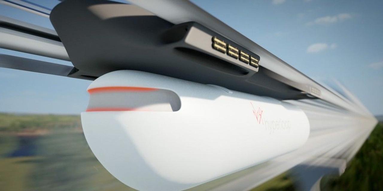 Новая концепцию Hyperloop от Virgin, в 10 раз более энергоэффективна, чем нынешние поезда MagLev