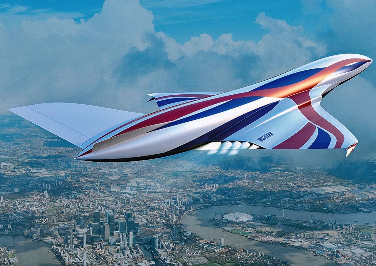 Гиперзвуковой космолет с реактивными двигателями SABRE доставит вас из Нью-Йорка в Лондон за 1 час