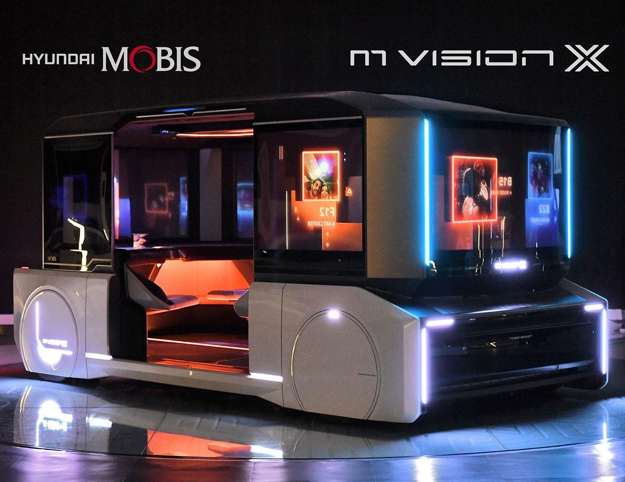 Электромобиль будет управляться смартфоном вместо руля; Hyundai Mobis создает эру новой мобильности