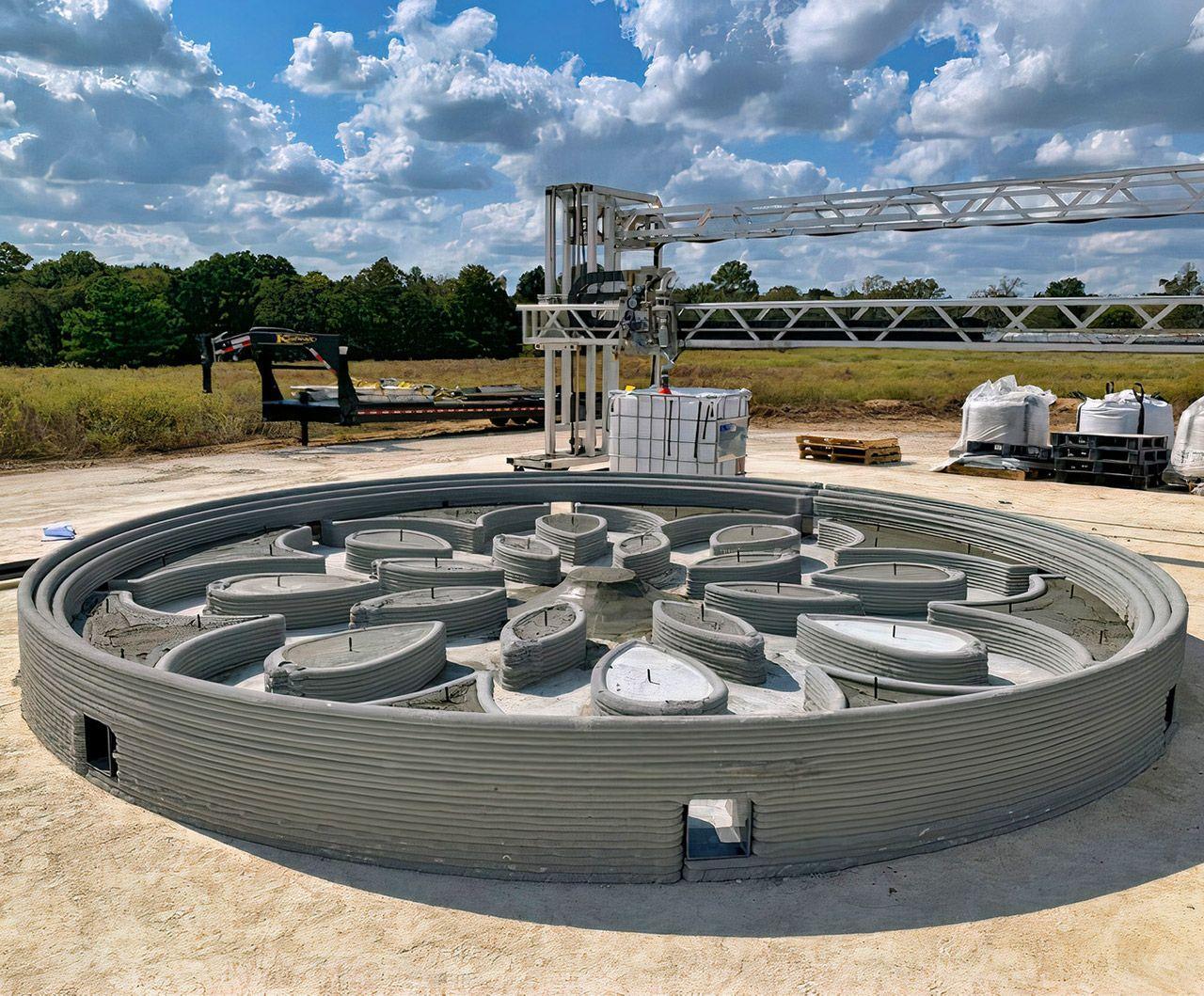 Компания ICON с помощью 3D-принтера создала первую в мире ракетную площадку для лунных миссий NASA
