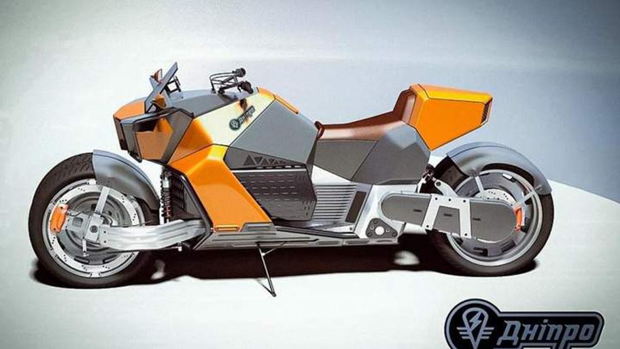 Украинская компания Delfast планирует серийный выпуск электромотоцикла Dnepr Electric