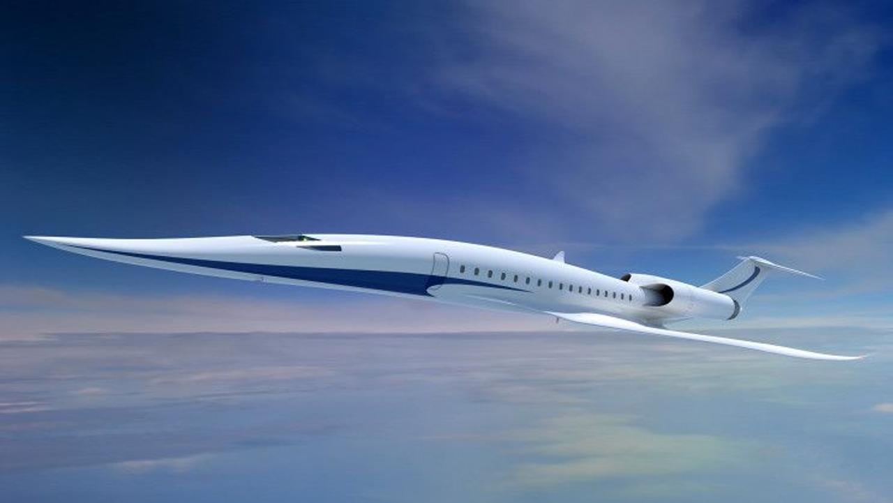 Япония работает над созданием сверхзвуковых пассажирских самолетов, чтобы сократить время при дальних полетах